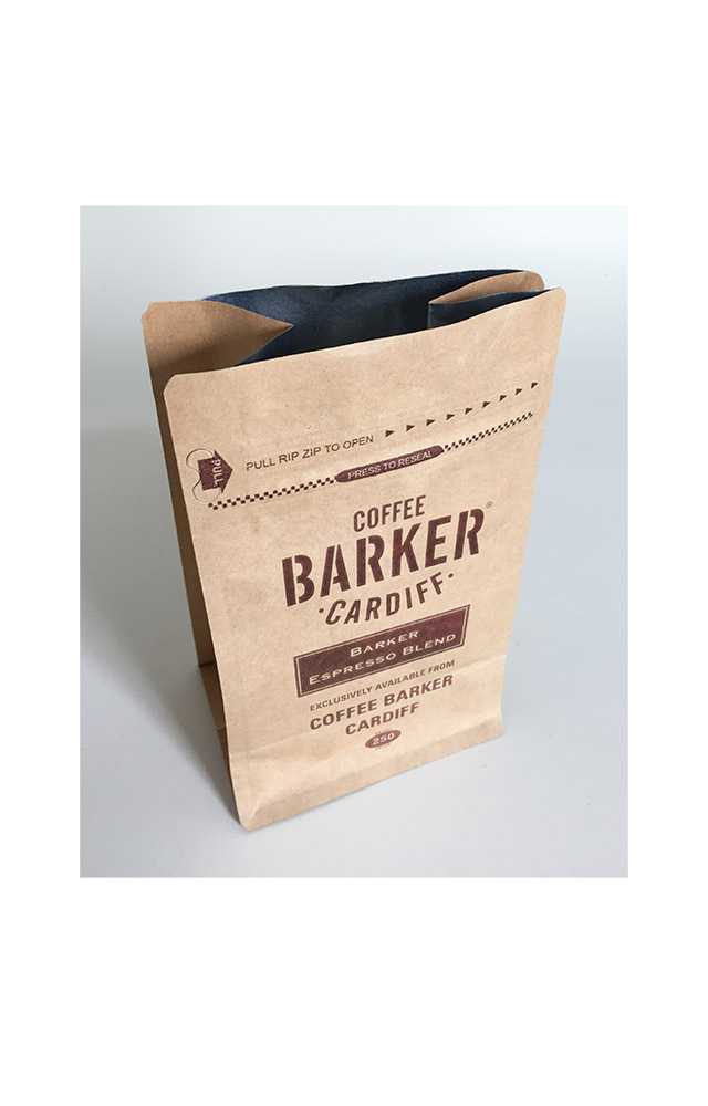 Coffee Barker, for Vintage Tea & Coffee Co.