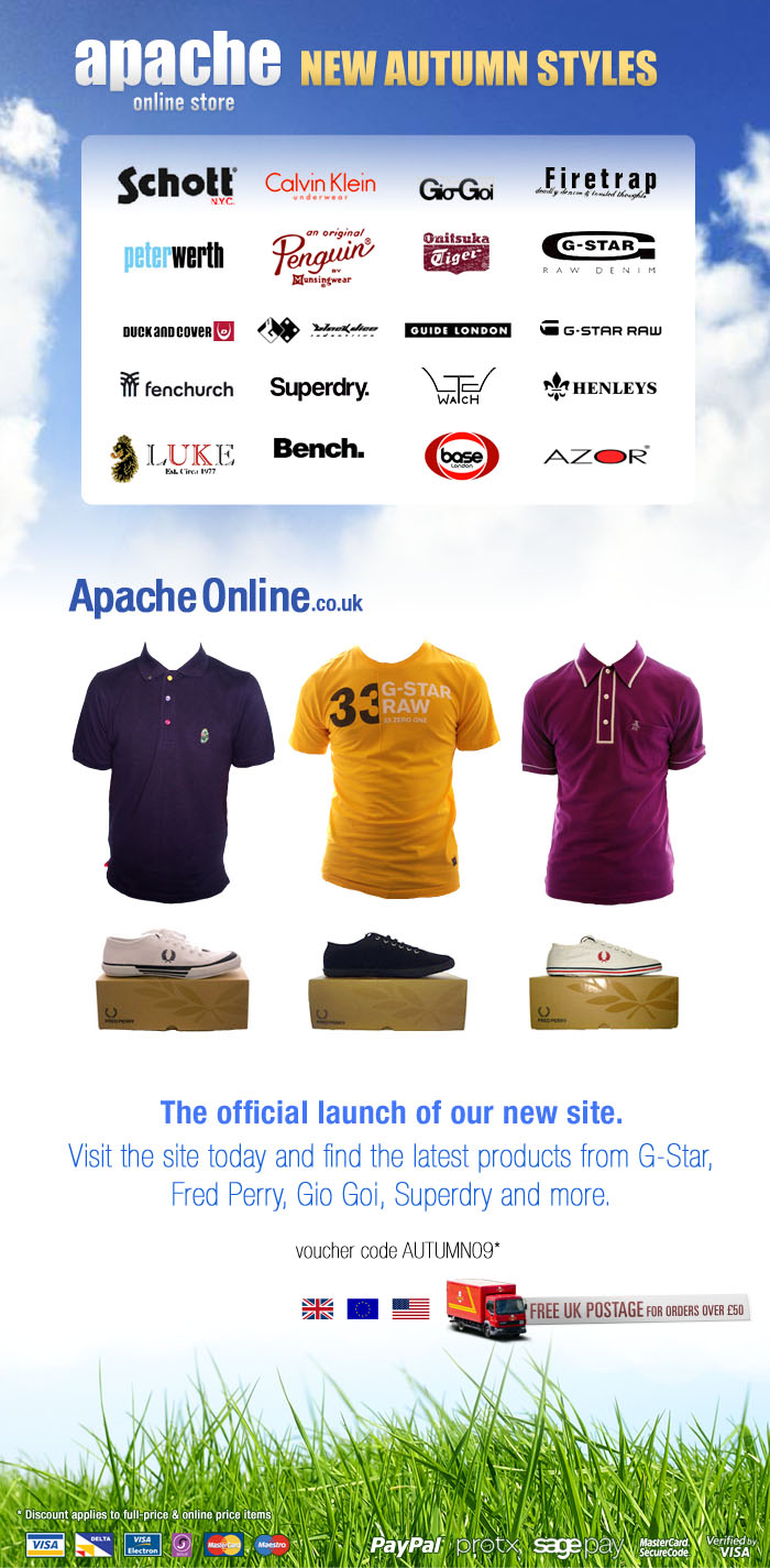 ApacheOnline.co.uk Newsletters, for Apache Online
