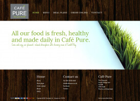Café Pure † Website