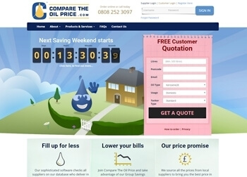 Compare The Oil Price Website