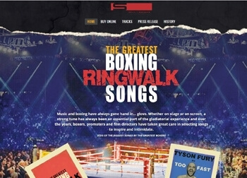 Greatest Boxing Ringwalk Songs Website